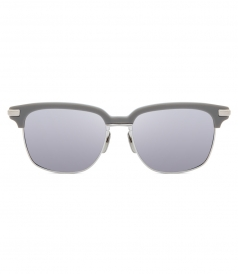 ACCESSORIES - TB-713 DARK GREY & SILVER MIRROR SUNGLASSES