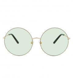 4e5a83cb118f SUNGLASSES - 170 C18 ROUND SUNGLASSES FT BLUSH MINT MIRRORED LENSES