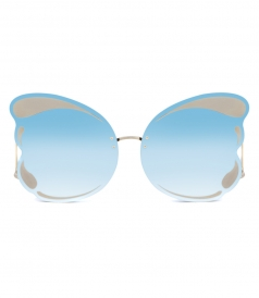 MATTHEW WILLIAMSON - 185 C1 BUTTERFLY OVERSIZED SUNGLASSES