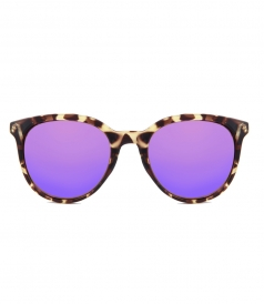 MAKANI TORTOISE PURPLE SUNGLASSES
