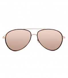 ACCESSORIES - LINDA FARROW 702 S3 AVIATOR SUNGLASSES