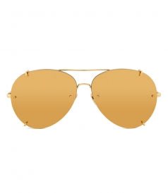 ACCESSORIES - LINDA FARROW 729 C1 AVIATOR SUNGLASSES