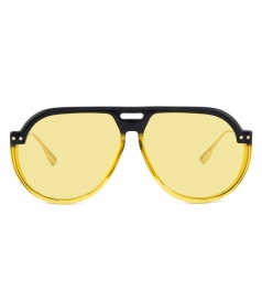 DIOR SUNGLASSES - DIORCLUB 3 AVIATOR SUNGLASSES IN YELLOW