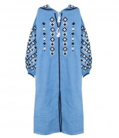 VESNA MAXI DRESS IN SKY BLUE