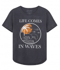 SALES - LIFE COMES IN WAVES TEE