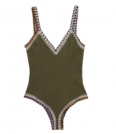 KIINI - SCOOP BACK ONE-PIECE SWIMSUIT