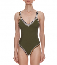 SCOOP BACK ONE-PIECE SWIMSUIT