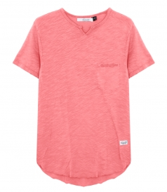 MILAN NOTCH NECK T-SHIRT
