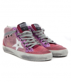SHOES - MID STAR SNEAKERS IN PINK SHADES