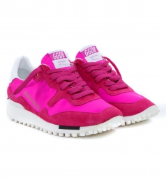 SHOES - STARLAND SNEAKERS IN CYCLAMIDE PINK