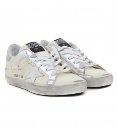 SHOES - SUPERSTAR SNEAKERS IN WHITE GREY