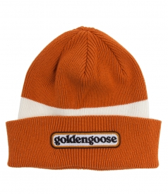 SYRMA BEANIE IN ORANGE