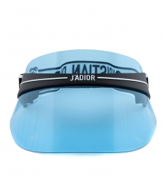 DIORCLUB1 VISOR SUNGLASSES IN BLUE
