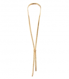 ROSANTICA - VOLUTTA LARIAT NECKLACE