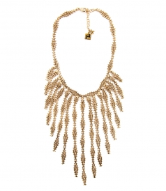 ROSANTICA - VOLUTTA GOLD-TONE NECKLACE