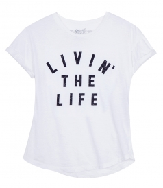 CLOTHES - LIVING THE LIFE T-SHIRT