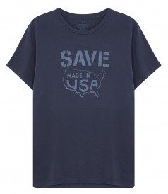 SAVE KHAKI - SAVE MAP T-SHIRT
