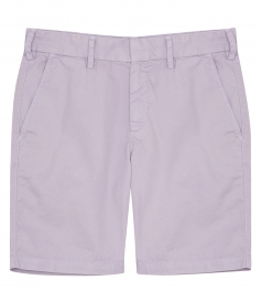 SHORTS - LIGHT TWILL BERMUDA SHORTS