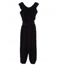 JUMPSUITS - ANDROMEDA NIGHTS SILK & CUPRO JUMPSUIT