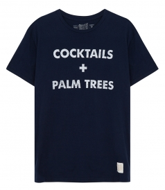 CLOTHES - COCKTAILS AND PALM TREES T-SHIRT