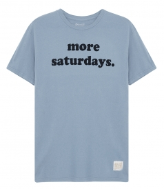 CLOTHES - MORE SATURDAYS T-SHIRT