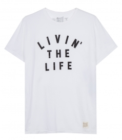 CLOTHES - LIVIN THE LIFE T-SHIRT