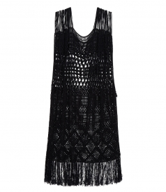 CLOTHES - CROCHET KAFTAN