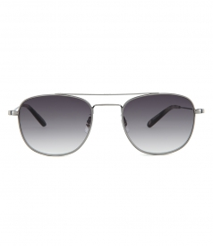 ACCESSORIES - CLUB HOUSE 50 AVIATOR SUNGLASSES FT FLAT BLACK GRADIENT LENSES