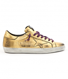 SHOES - SUPERSTAR SNEAKERS IN TOTAL GOLD