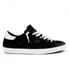 SHOES - SUPERSTAR SNEAKERS IN BLACK FT WHITE HEEL COUNTER