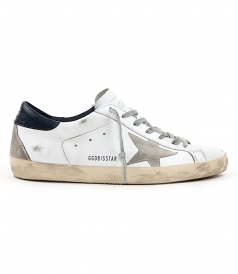 SHOES - SUPERSTAR SNEAKERS FT BLUE & GREY DETAILING