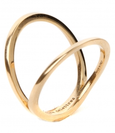 IN BETWEEN 18KT GOLD RING