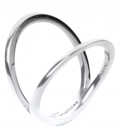 FINE JEWELRY - IN BETWEEN 18KT WHITE GOLD RING