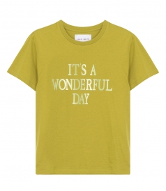 CLOTHES - IT'S A WONDERFUL DAY PRINTED T-SHIRT