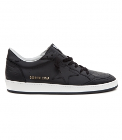 SHOES - BALL STAR SNEAKERS IN TOTAL BLACK