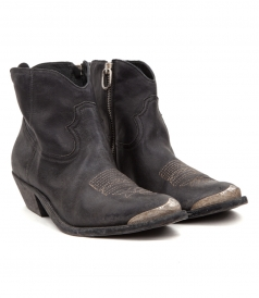SHOES - YOUNG MID-LENGTH COWBOY BOOTS