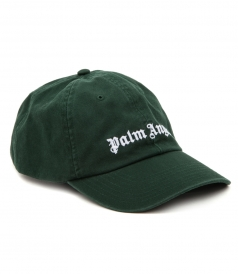 CLASSIC LOGO CAP IN DARK GREEN