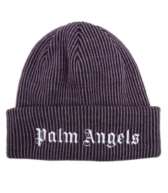 WOOL BLEND TWO TONES BEANIE