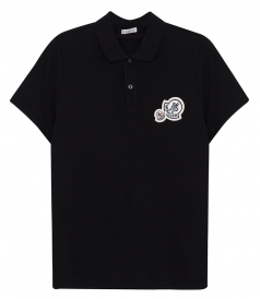 SHORT SLEEVE 3D LOGO POLO