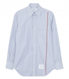 THOM BROWNE NEW YORK - CLASSIC PONT COLLAR SHIRT