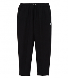 TROUSERS - CROPPED DRAWSTRING PANTS