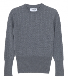 CLOTHES - BABY CABLE CREW NECK PULLOVER