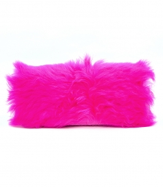 3.1 PHILLIP LIM - RAY BAGUETTE FURRY CROSSBODY BAG