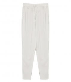 PANTS - DRAWSTRING-WAIST SUITING TRACK PANTS
