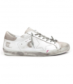 SHOES - SUPESTAR SNEAKERS IN DISTRESSED EFFECT