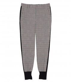 PANTS - CHECKED WOOL PANTS