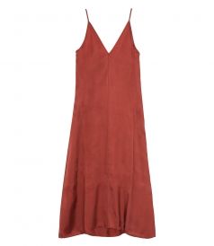 CLOTHES - SATIN LONG SLIP DRESS