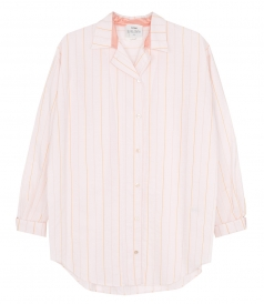 CLOTHES - OVERISZED POPLINE STRIPE SHIRT