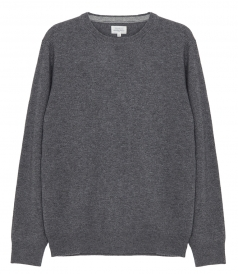 KNITWEAR - WOOL & CASHMERE CREW NECK SWEATER