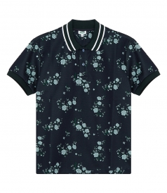 CHEONGSAM FLOWER POLO SHIRT